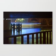 Canvas Print featuring FLOATING LIGHTS by CAPTAINSILVA