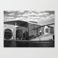 Bundestag in Berlin, Germany.  Canvas Print