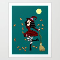 Be Witched! Art Print