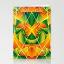 Summer Spiral Stationery Cards