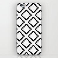 Geometric Squares Diamon… iPhone & iPod Skin