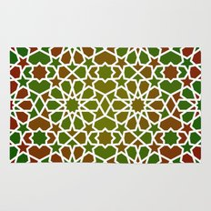 Red & Green Rug