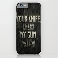 Your Knife My Back! iPhone 6 Slim Case