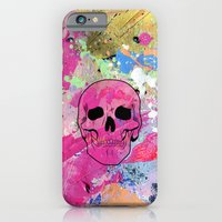 Skull collage iPhone 6 Slim Case