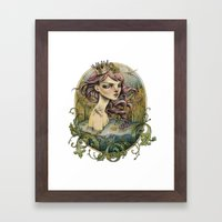 Frog Prince Framed Art Print