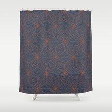 Cuben Wavey Shower Curtain