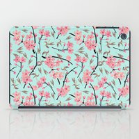 April Blooms_sky(In Memo… iPad Case