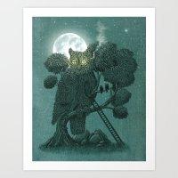 Nightwatch Art Print