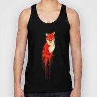 The Fox, The Forest Spir… Unisex Tank Top