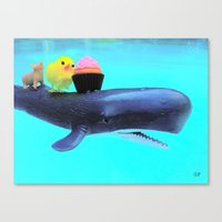 Thanx For The Ride  Canvas Print