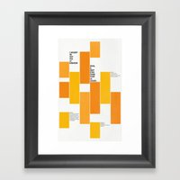 Axiome Framed Art Print