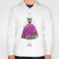 Audrey OZ Stardust Pink Glitter Dress Hoody