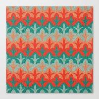 Citrous Flora Canvas Print