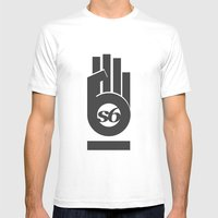 S6_hand_tee_1 Mens Fitted Tee White SMALL