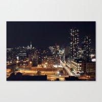 New York City Skyline II Canvas Print