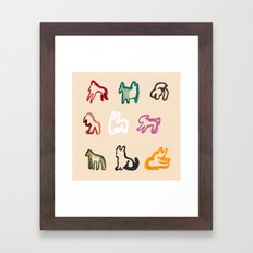 AMINALS Framed Art Print