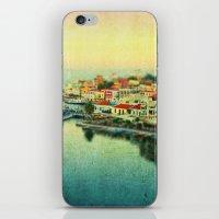 Agios Nikolaos iPhone & iPod Skin