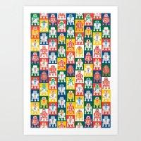 Artoo Pattern Art Print