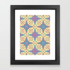Sante Fe Pattern Framed Art Print