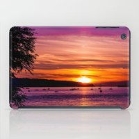 Sunset Over The Beach  iPad Case