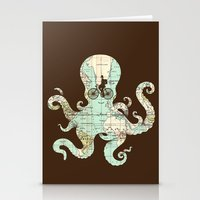 All Around The World Stationery Cards