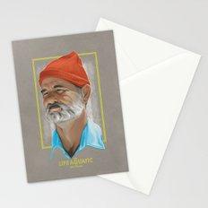 Steve Zissou Life Aquatic  Stationery Cards