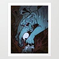 Weretiger - Cool Art Print