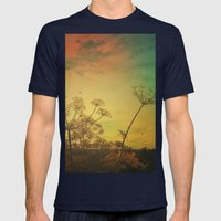 Summer Enchantment Mens Fitted Tee Navy SMALL