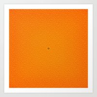 Juicy Orange Art Print