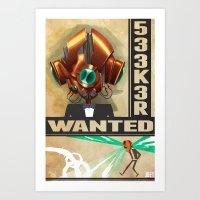 533K3R Art Print