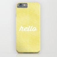 iPhone & iPod Case featuring Hello Sunshine by Menina Lisboa