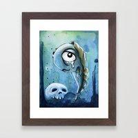 Pollywog Framed Art Print