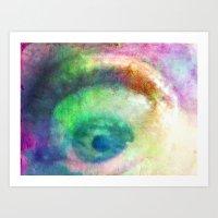 I SPY FROM MY LITTLE EYE - 035 Art Print