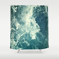 Water III Shower Curtain