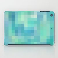 Re-Created Colored Squares No. 17 by Robert S. Lee iPad Case