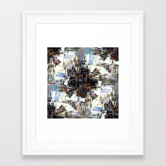 Sunday 24 March 2013: it's only as typical as expectations may decree Framed Art Print