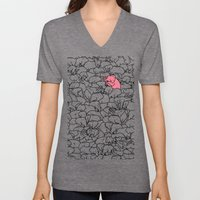 Word 2 the Herd v1 Unisex V-Neck