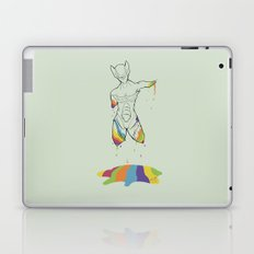 D-colored Laptop & iPad Skin