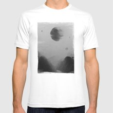 Death From Above SMALL Mens Fitted Tee White