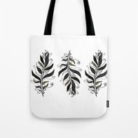 TRIBAL FEATHERS Tote Bag