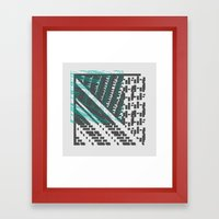 GAP GAP GAP Framed Art Print