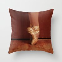 Pointe Throw Pillow