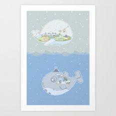 Fantastic Fish Art Print