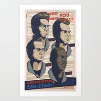 Ghostbusters 30th Annive… Art Print