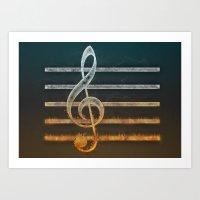 A Song Of... Art Print