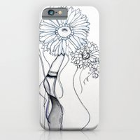 iPhone & iPod Case featuring Flower Hair by iszaa syyskuu