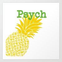 Minimalist Psych  Art Print
