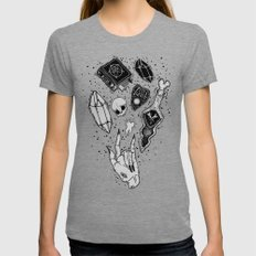 Witchcraft Womens Fitted Tee Tri-Grey SMALL