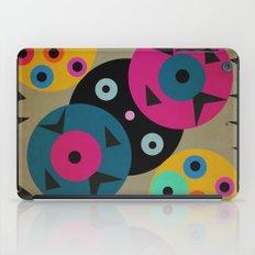 mixed shapes iPad Case