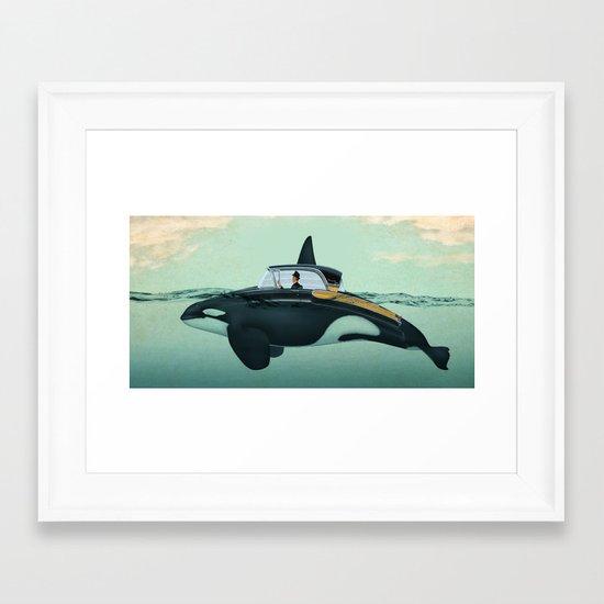 The Turnpike Cruiser of the sea Framed Art Print